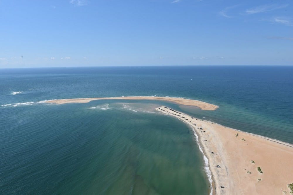 Outer Banks' Shelly Island is no longer an island