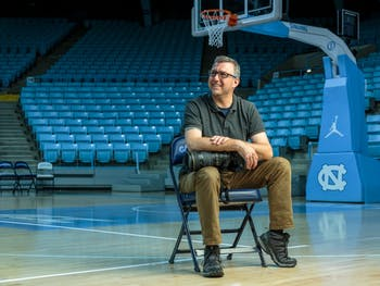 Jeff Camarati has shot four men's basketball national championships as UNC Athletics' first official University photographer, along with countless other games for all 28 of UNC's varsity sports.