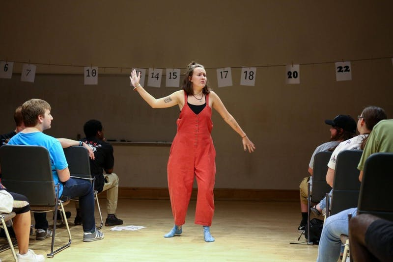 LAB! Theatre and the Modern Shakespeare Society will perform 30 plays in 60 minutes. Photo courtesy of Scott Diekema.