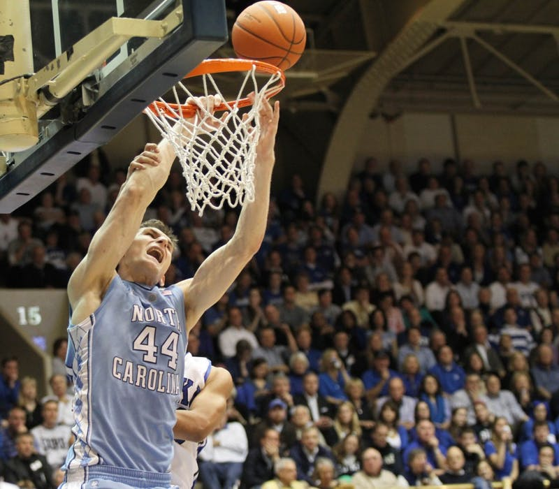 UNC played the Duke Blue Devils at Cameron Indoor Stadium on Feb. 9, 2011.