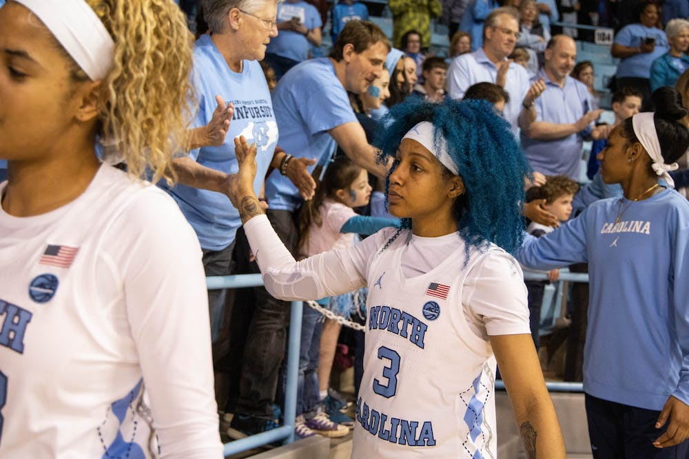 On Senior Day, a sense of pride alongside disappointment for UNC women's basketball
