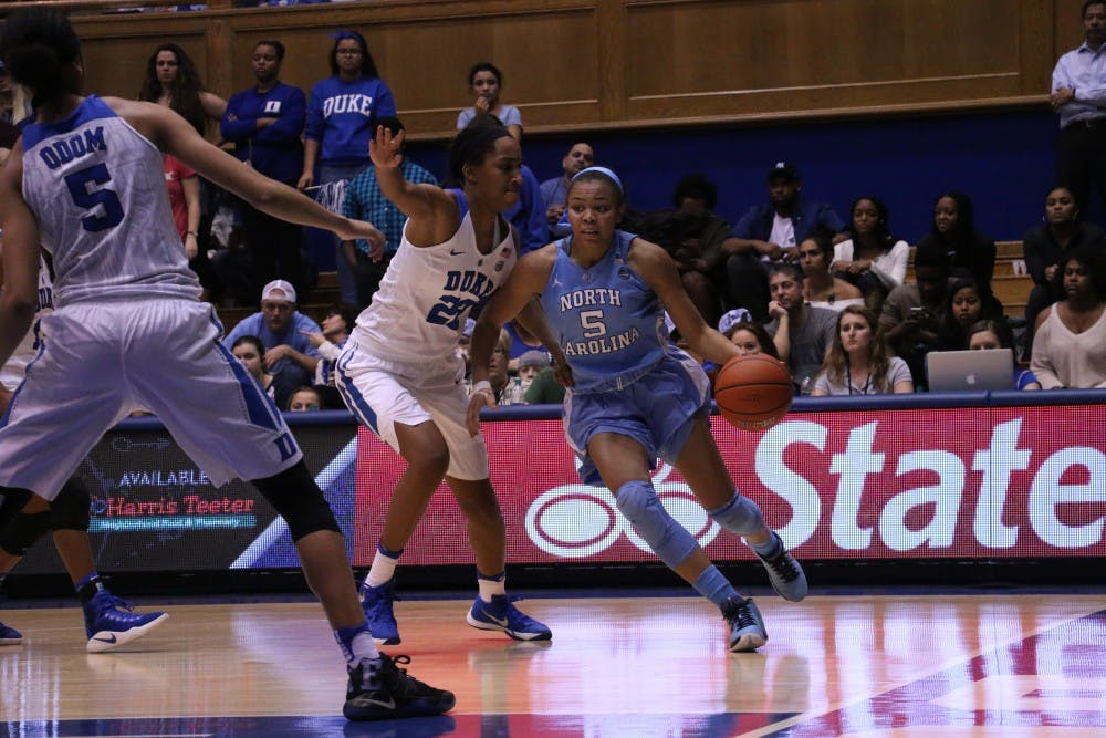 Brutal 2nd quarter dooms UNC women's basketball in road loss to No. 12 Duke