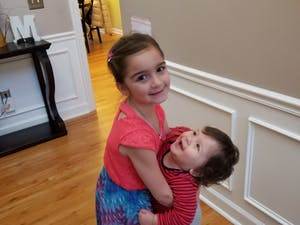 Photo is courtesy of Johna Register-Mihalik. The children are Jenna, 6, and John, 1.