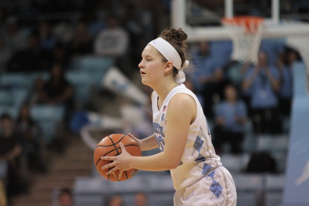 Take me to Church: first-year Leah Church scores career-high 19 in OT win over Duke