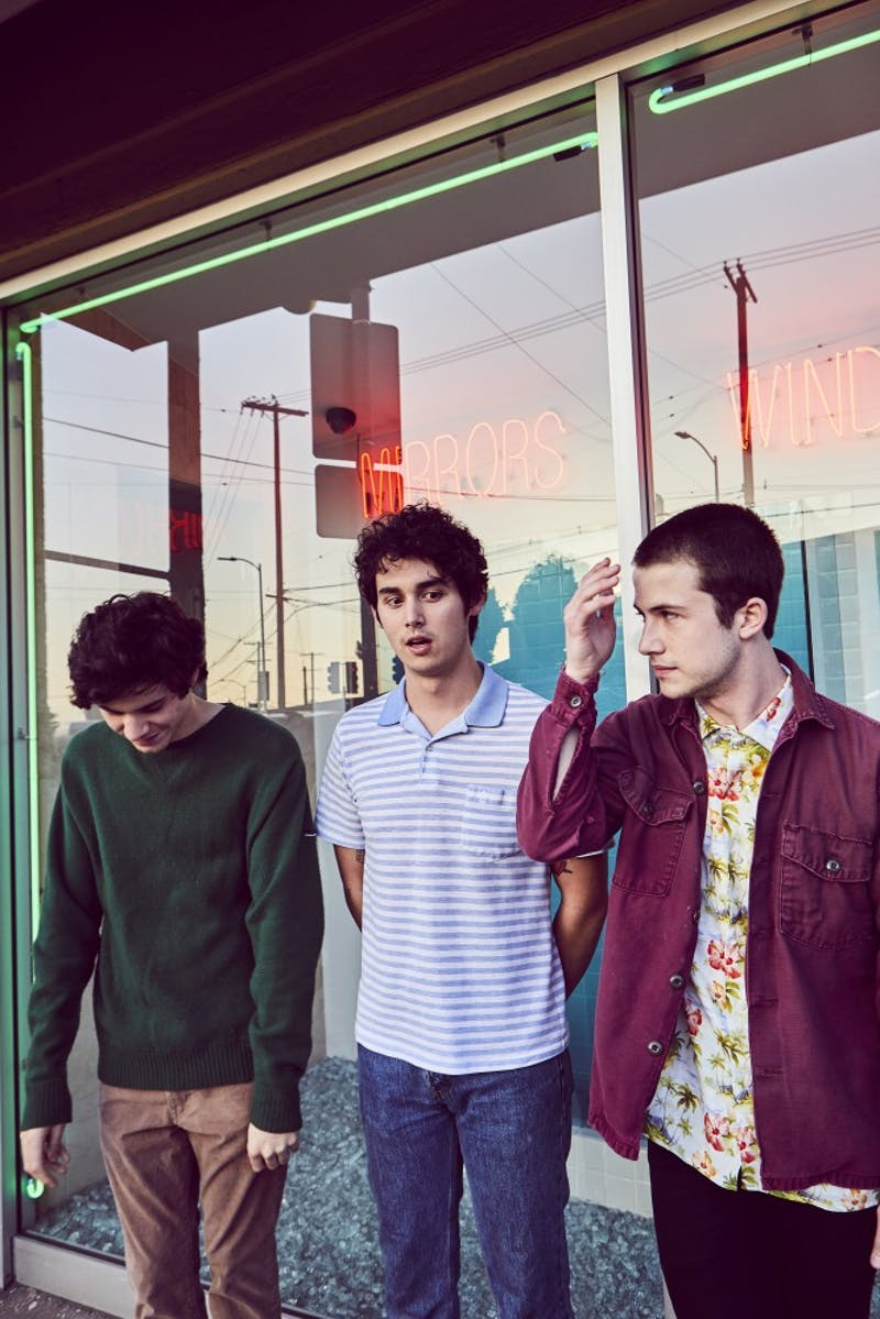 Dylan Minnette, Cole Preston and Braeden Lemasters are coming to Cat's Cradle in Carrboro on March 6. Photo courtesy of Jimmy Fontaine.