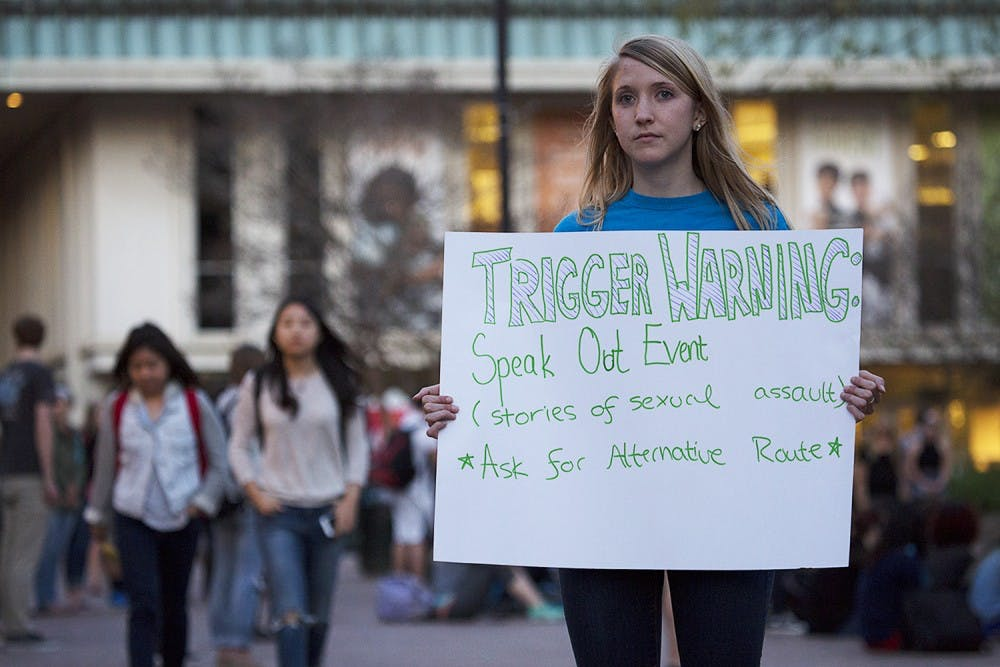 Students speak out about sexual assault at UNC