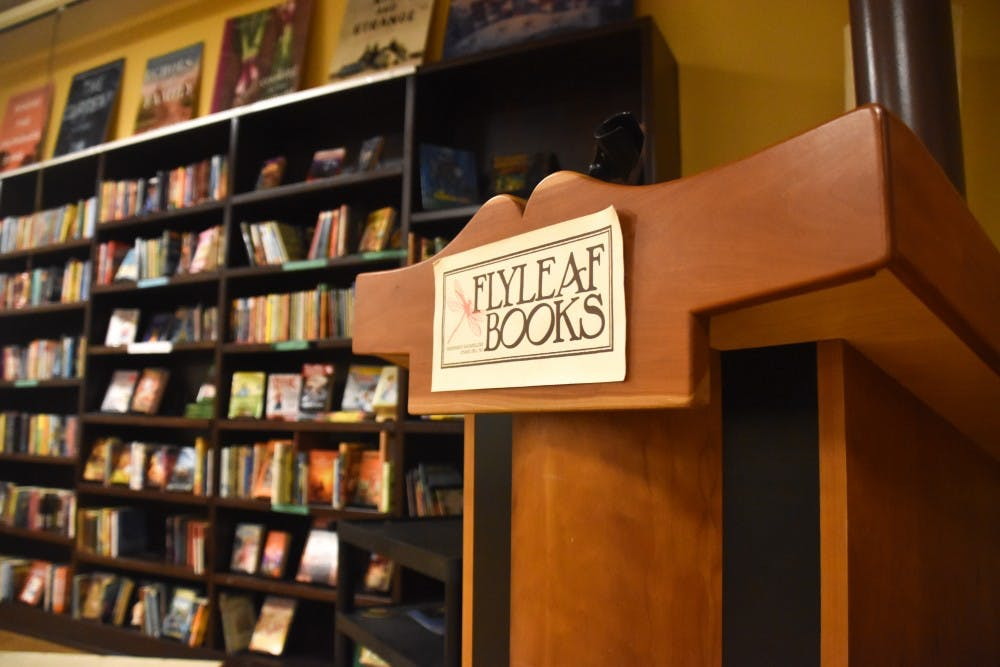 At Flyleaf Books, author brings a dose of reality to legend Daniel Boone