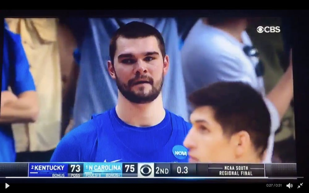 Isaac Humphries is every Kentucky fan right now