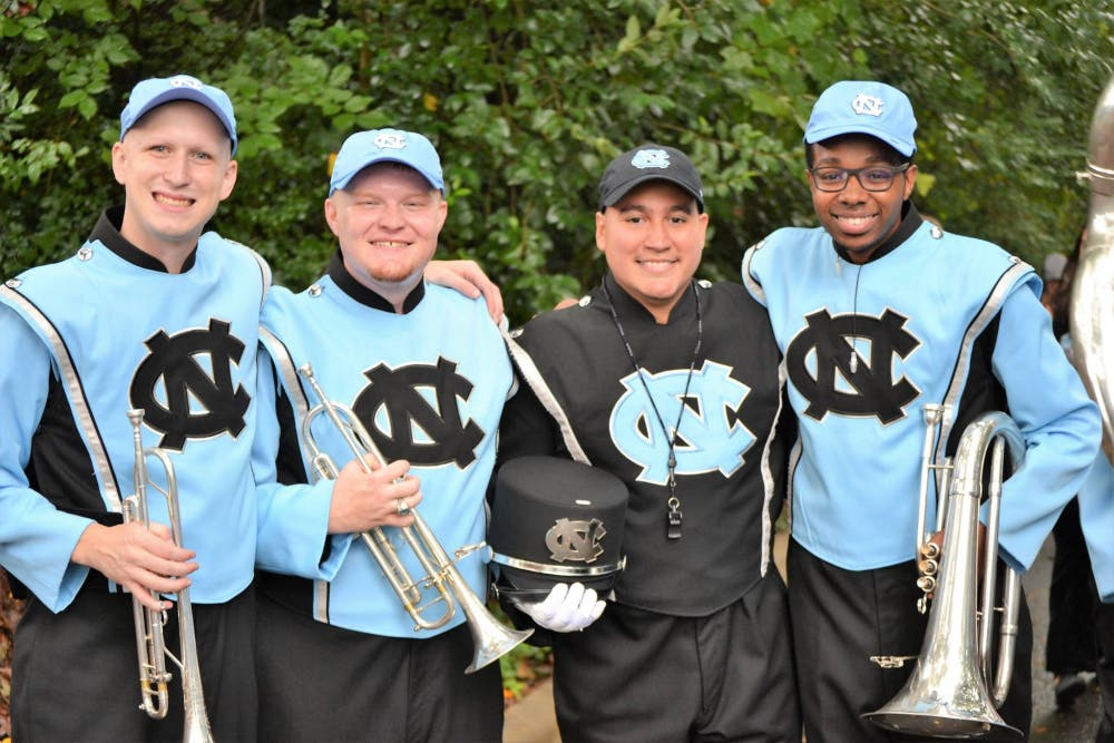 'Never Made Varsity' is a new podcast made by four Marching Tar Heels