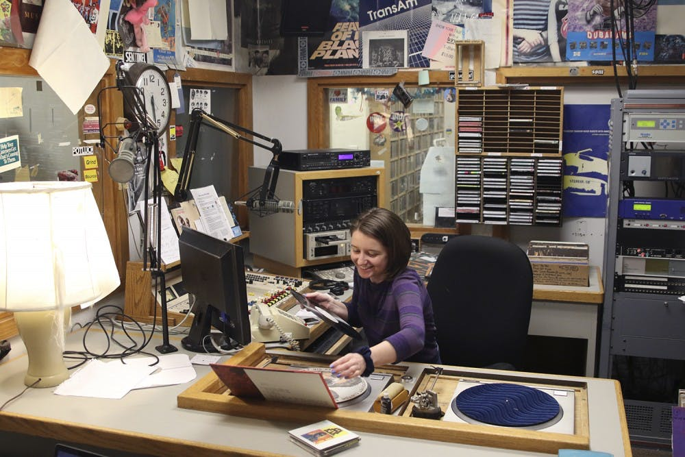 Students find creative outlet in WXYC radio station