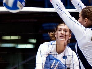 Senior hitter Lauren Prussing has proven invaluable for the North Carolina volleyball team in its six-game conference winning streak.