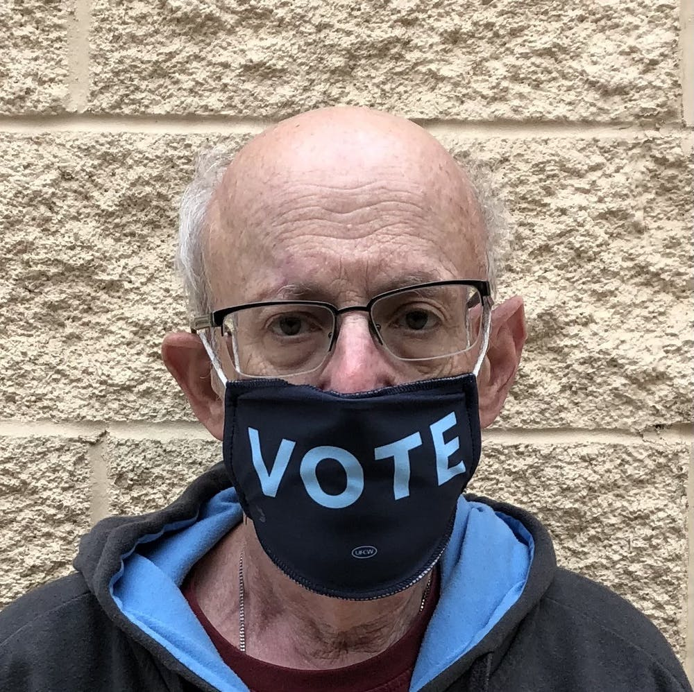 <p>Gerry Cohen, member of the Wake County Board of Elections and an adjunct professor at Duke University. Photo courtesy of Cohen.</p>