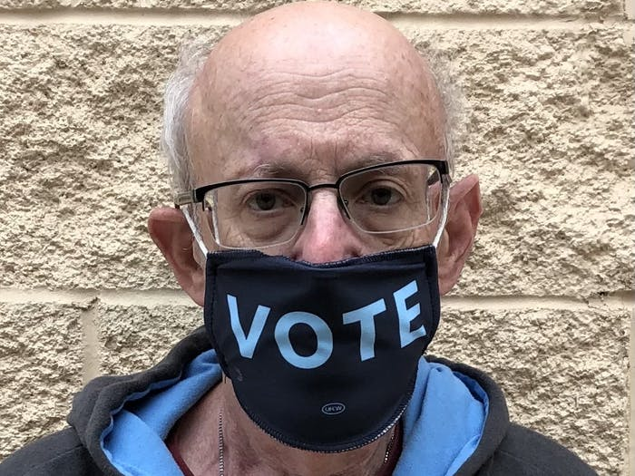 Gerry Cohen, member of the Wake County Board of Elections and an adjunct professor at Duke University. Photo courtesy of Cohen.