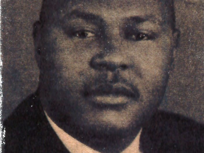 Theodore Cole was killed in his front yard the day he was slated to become the first Black detective in the Chapel Hill Police Department. Photo courtesy of Cpt. Mecimore/CHPD