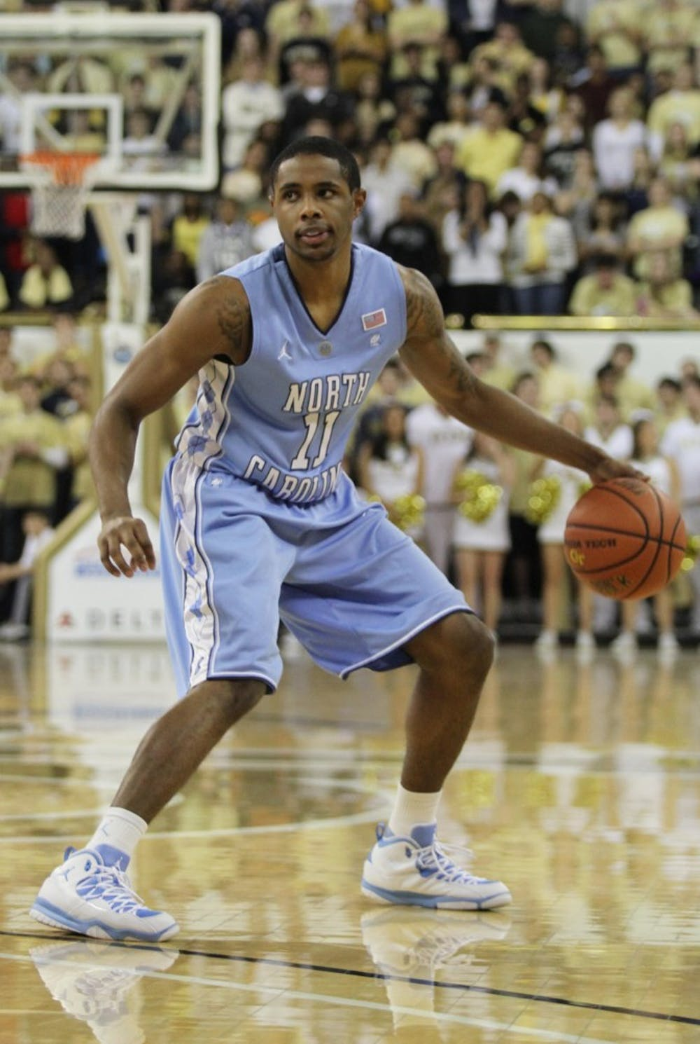 Larry Drew II did not score a single point in 21 minutes of play against Georgia Tech.