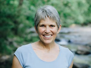 Headshot of author Anne Heck. Photo courtesy of Books Forward.