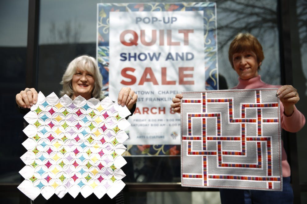 Meet the most wholesome quilting group in North Carolina