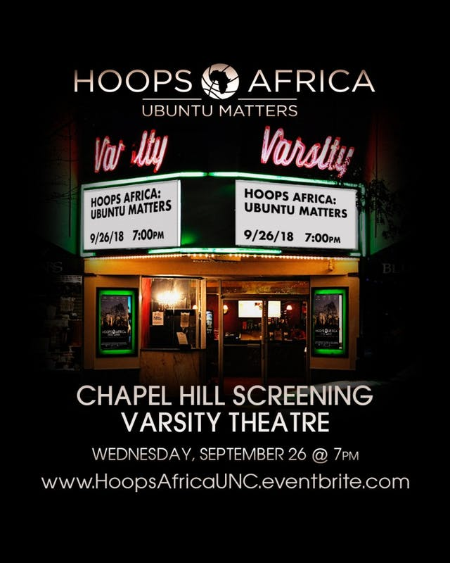Former UNC graduate Taylor Sharp presents his documentary, Hoops Africa: Ubuntu Matters, at the Varsity Theater on Wednesday at 7:30 p.m. Photo courtesy of Taylor Sharp.