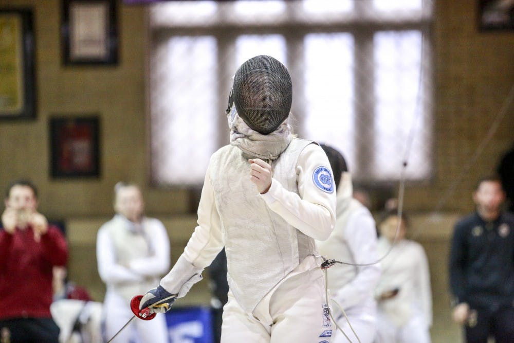 UNC fencing opens 2020 with mixed results at Penn State Invitational
