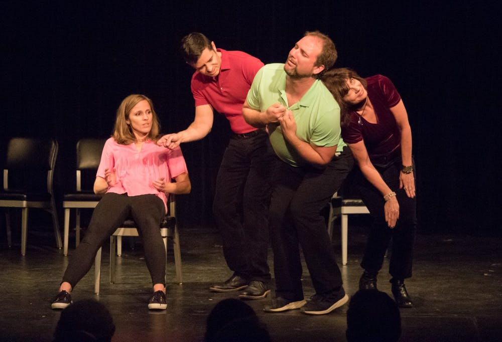 Share a laugh with loved ones at this improv Valentine's Day musical