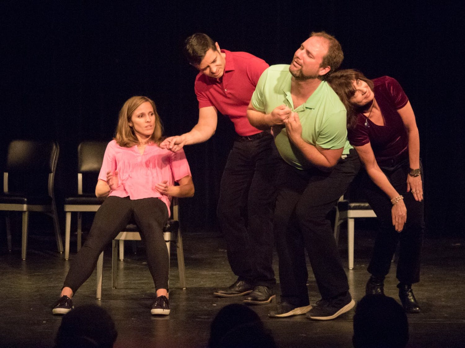 Transactors Improv will present a Valentine's Day Musical on Feb. 14, 2020 from 8 to 10 p.m at The ArtsCenter in Carrboro.Photo courtesy of Greg Hohn.