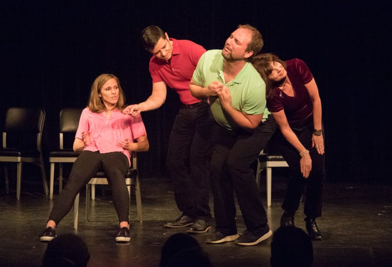 Transactors Improv will present a Valentine's Day Musical on Feb. 14, 2020 from 8 to 10 p.m at The ArtsCenter in Carrboro. Photo courtesy of Greg Hohn.