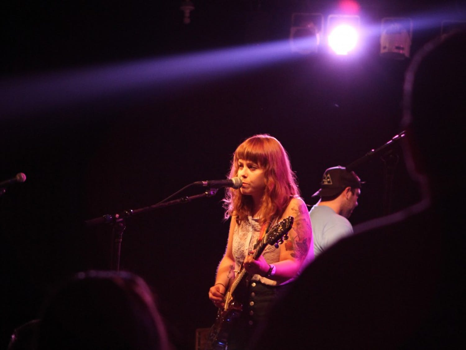Genders perform at Cat's Cradle in Carrboro on October 30, 2013.