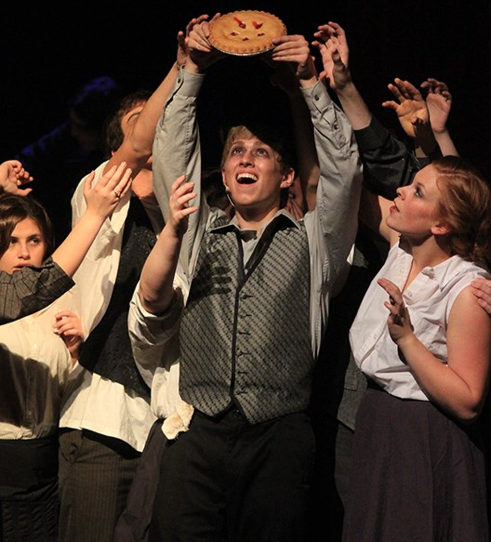 """UNC Paupers Players are putting on a production of """"Sweeney Todd"""" this Friday, Saturday, Sunday, and Monday nights at the Historic Playmakers Theater. Student tickets are $5 and tickets for the public are $10."""