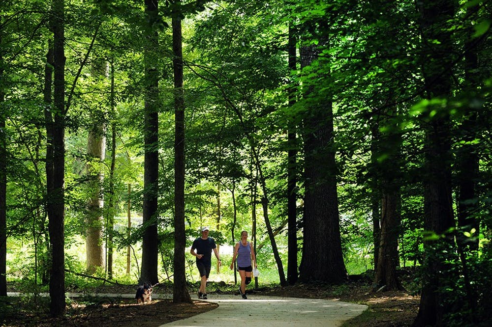 Are you tired of quarantining at home? Take a walk on a local greenway
