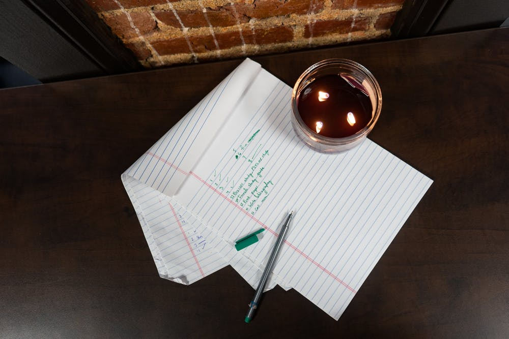 <p>DTH Photo Illustration. Studying for exams is stressful for everyone, so we have some tips to get you through midterm season.</p>
