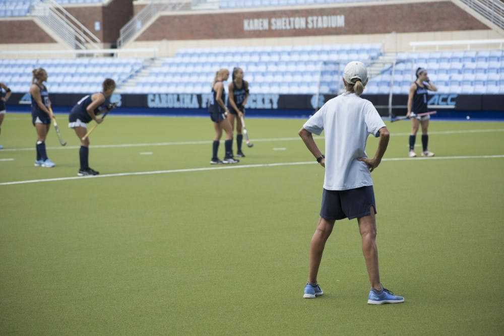 UNC field hockey honors Karen Shelton by naming stadium after longtime coach