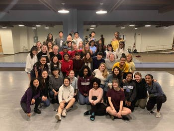 UNC dance groups Moonlight and Kamikazi will team up for the Debbie Casey Memorial Showcase on Nov. 23, 2019. Photo courtesy of David Hart.