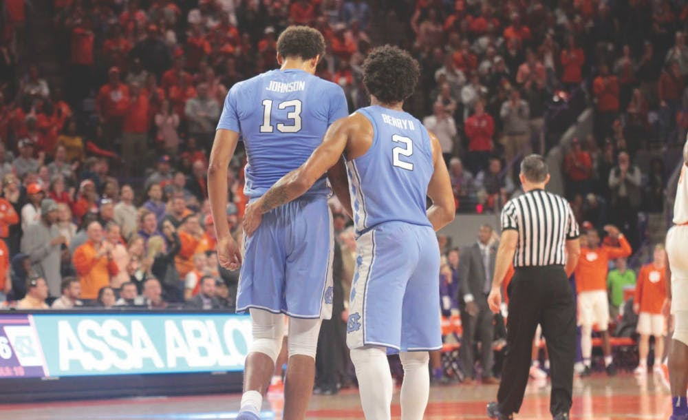 Clemson's 3-point barrage hands UNC its first three-game losing streak since 2014