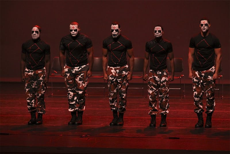 The National Pan-Hellenic Council hosted their annual step show Thursday at Memorial Hall. The Kappa Alpha Psi Fraternity performed their routine based on the popular movie, The Purge Anarchy.
