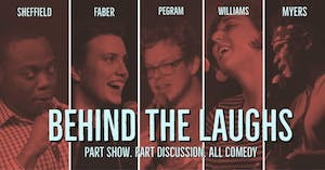 """Behind the Laughs"" features a comedy show and a panel discussion at the Varsity. Courtesy of Bry Burguesa."