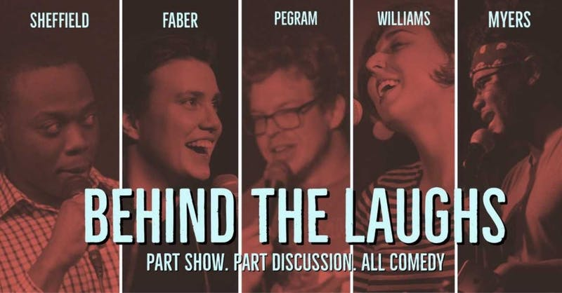 """""""Behind the Laughs"""" features a comedy show and a panel discussion at the Varsity. Courtesy of Bry Burguesa."""