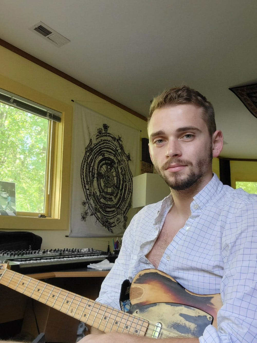 Del Ward, 26, is a singer/songwriter from Hillsborough, N.C. Photo courtesy of Del Ward.