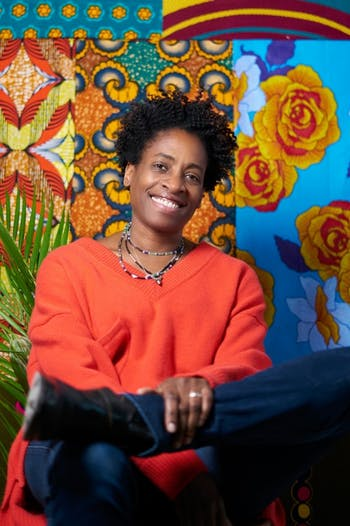 """Author Jacqueline Woodson will be coming to Flyleaf Books on Monday, Oct. 7, 2019 to discuss her new book """"Red at the Bone."""" Photo courtesy of Tiffany A. Bloomfield."""