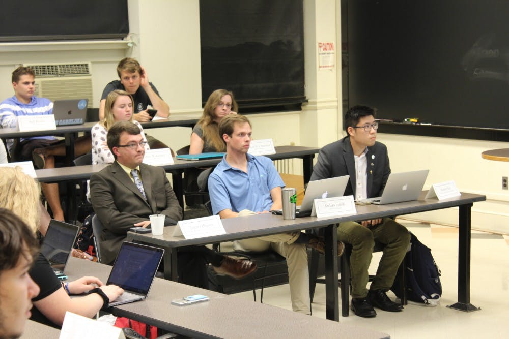 Here's what you missed at Wednesday's Undergraduate Senate meeting