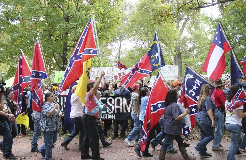 Some groups want more Confederate flags in N.C. — here's how Orange County is reacting