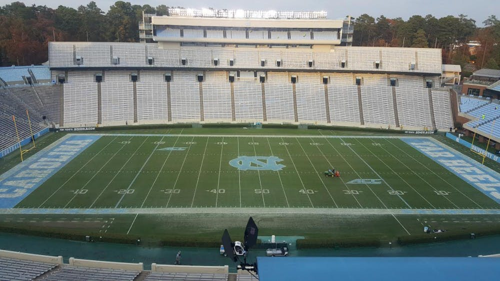 Kenan Stadium will keep grass over artificial turf, UNC officials decide
