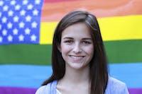 Morgan Mclaughlin, a sophomore political science and sociology major.
