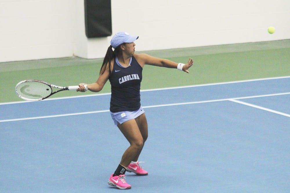 UNC women's tennis gets revenge against Texas A&M