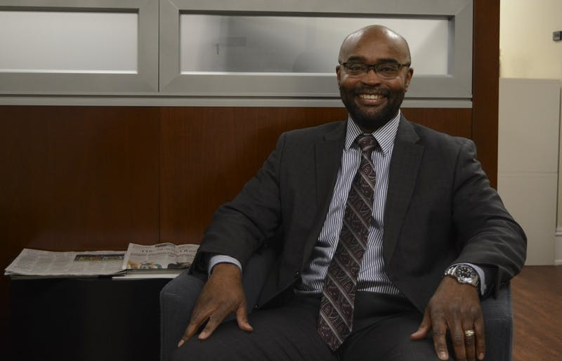 Dwayne Pinkney was just chosen as the new Senior Associate Vice Chancellor of Finance and Administration.