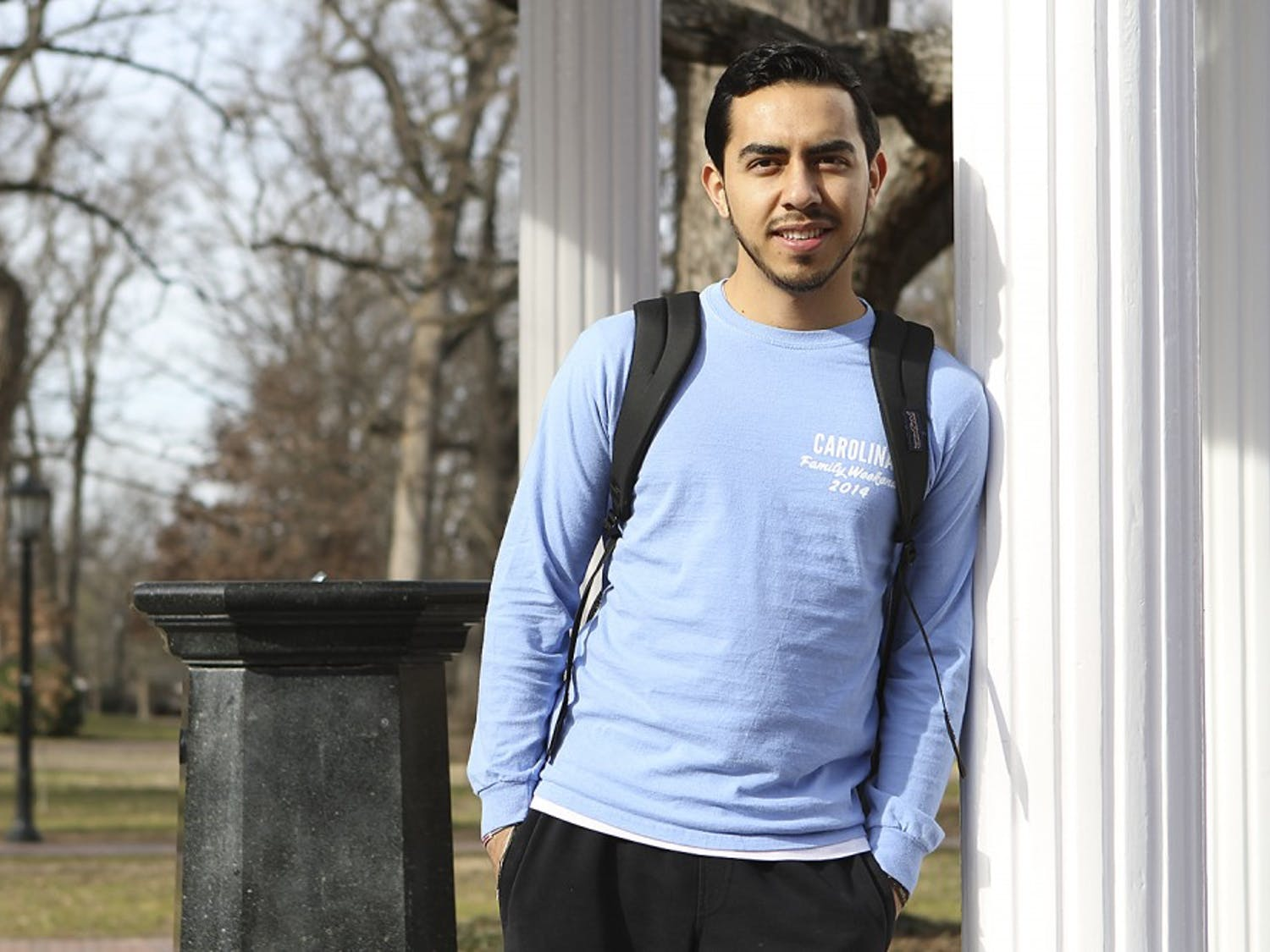 Jose, an undocumented student, has overcome many challenges to attend UNC this year.