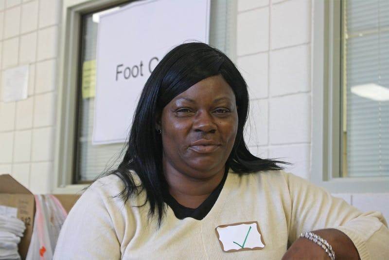 Project Connect has its 8th annual event at Hargraves Community Center early Thursday afternoon. Project Connect which provides health and personal services for low income and homeless people in the Orange County area. This was Veronica Lamberth's first time attending the event and she said she plans on attending again in the future.
