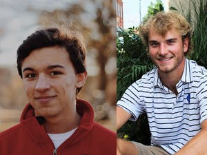 Luke Hines (left) and Kade Sutton (right) are the Carolina Athletic Association's presidential candidates. Photos courtesy of Hines and Sutton.