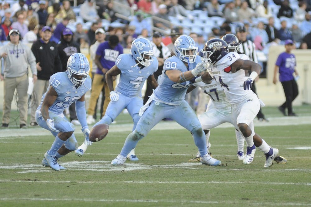 Two games in Kenan Memorial Stadium show just how far UNC's Javonte Williams has come