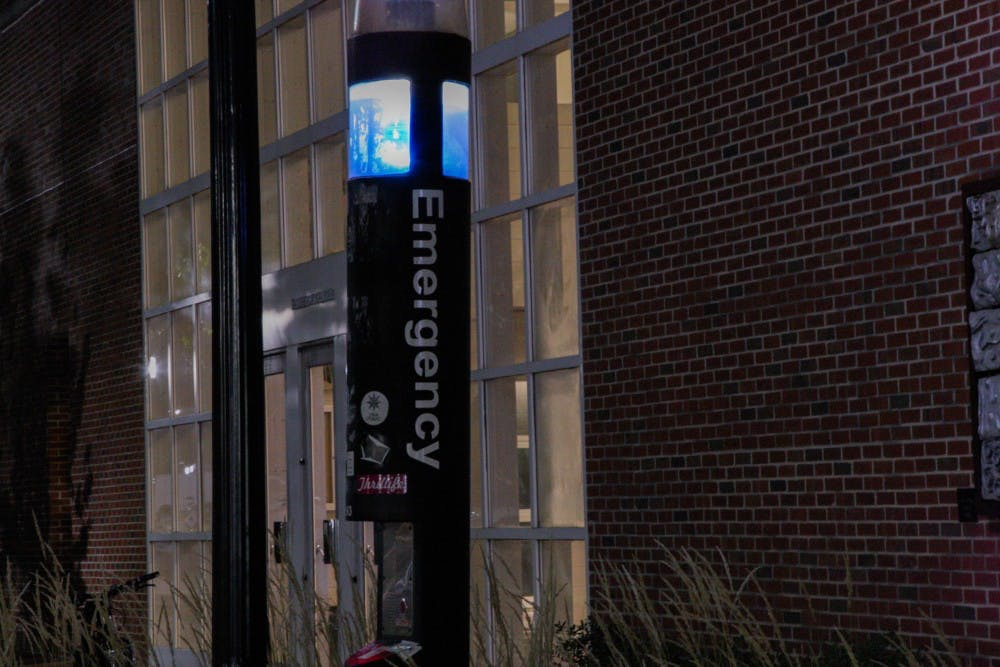 Have campus blue light call boxes outlived their usefulness?