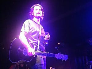 Singer-songwriter Matt Nathanson will perform for a sold-outcrowd at Cat's Cradle tonight. He is promoting his newest album. (Courtesy of Ayat Soufan)